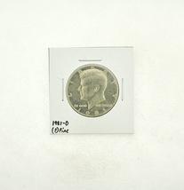 1981-D Kennedy Half Dollar (F) Fine N2-3737-7 - $4.99