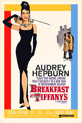 Breakfastattiffanys with credits poster