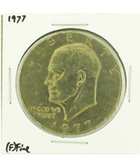 1977 Eisenhower Dollar RATING: (F) Fine (N2-4249-10) - $4.00