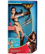 Wonder Woman Movie Doll with Bow Wielding Action - New In Box 2017 - $23.02