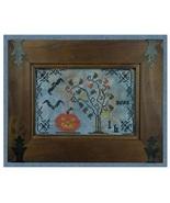 The Witching Hour halloween cross stitch chart Cherished Stitches  - $8.00