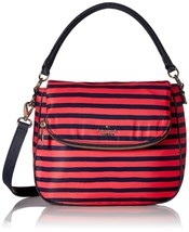 Kate Spade Women Classic Nylon Small Devin Crossbody Bag Black  Geranium... - $159.98