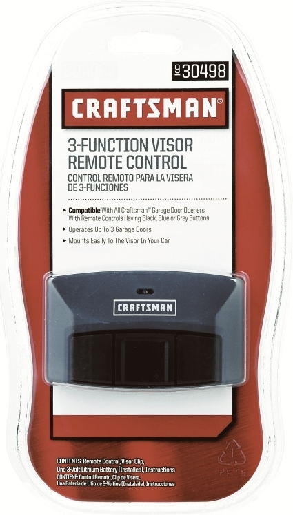 Craftsman 3 Function Visor Remote Control And 50 Similar Items