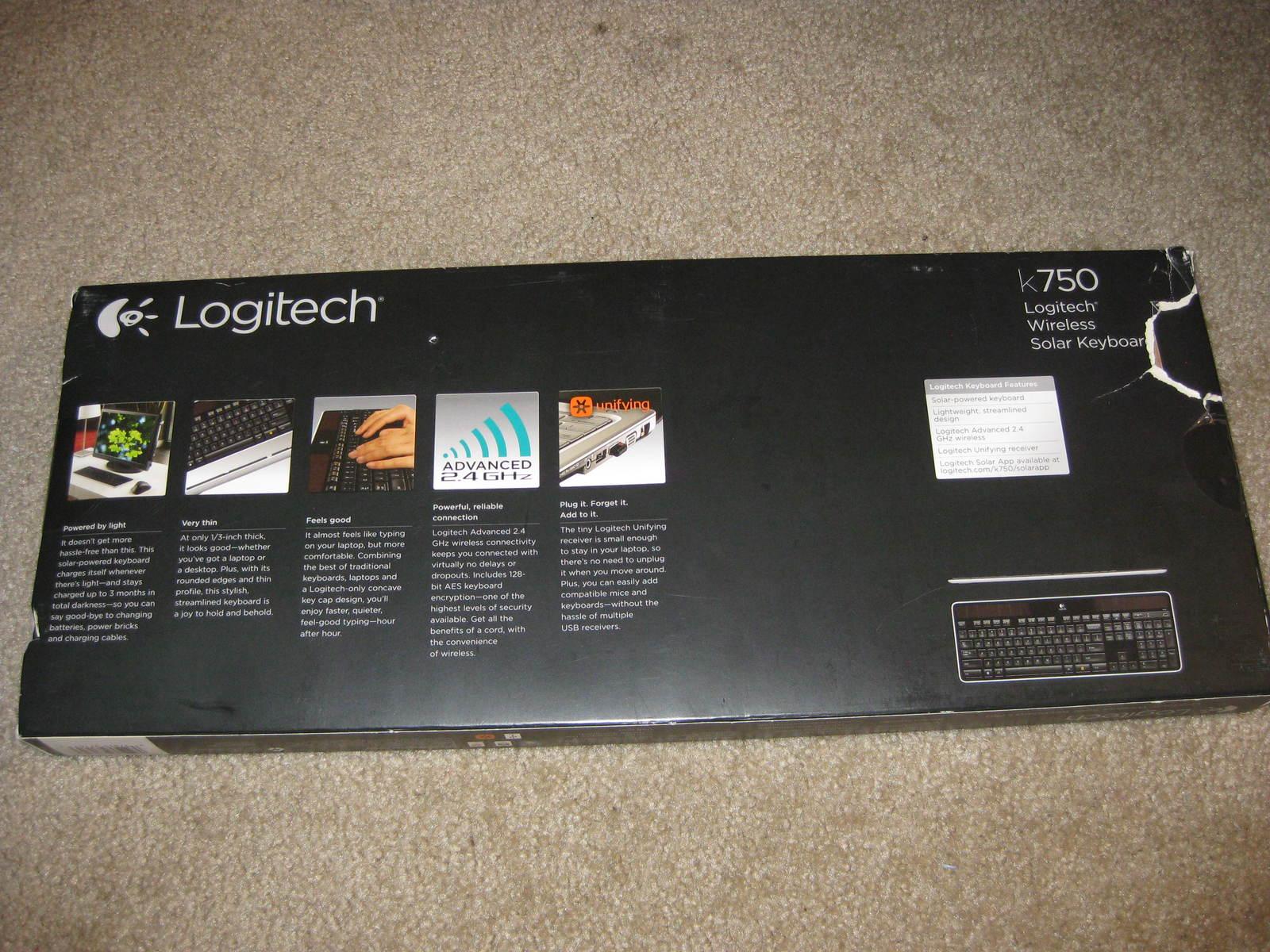 Logitech Wireless Solar Keyboard K750 image 2