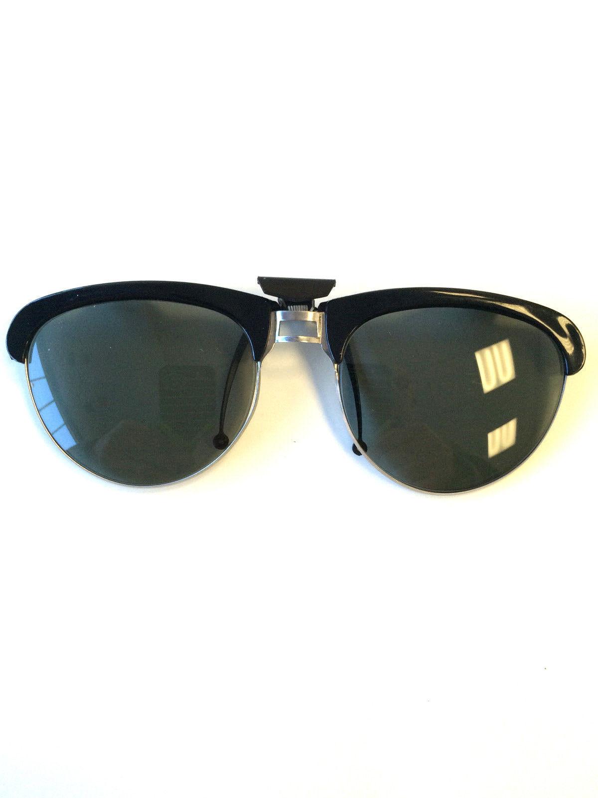 ea5207201e1fa Sunglass Clip On Klips-On 1960 Vintage and 50 similar items