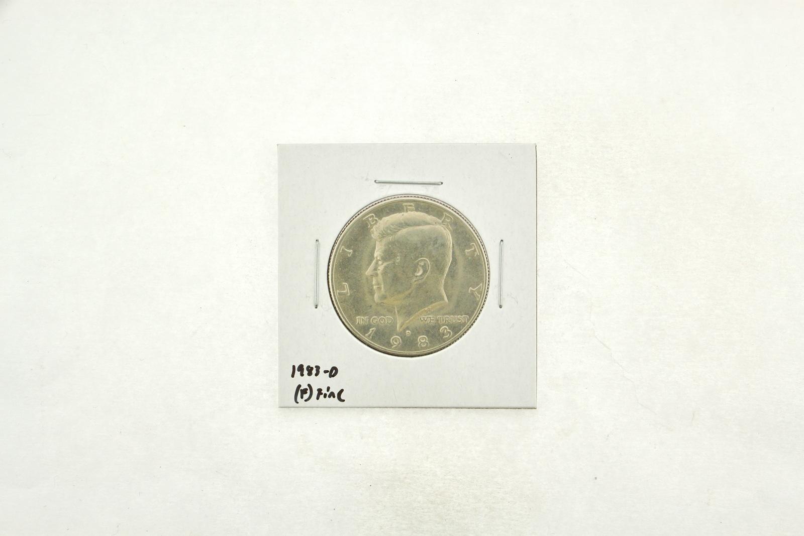 1983-D Kennedy Half Dollar (F) Fine N2-3755-10