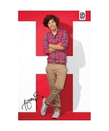 1D One Direction Harry Poster - Red Background Official Brand New 1D - $12.00