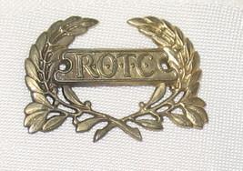 VINTAGE ROTC Pin Back Badge - $9.00