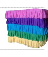 Rainbow Ruffle Layered Complete Table Cover - $128.69+