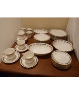 Vintage Gorham Nocturne Dinnerware Set of 21 Pieces Rare Collection - $245.98
