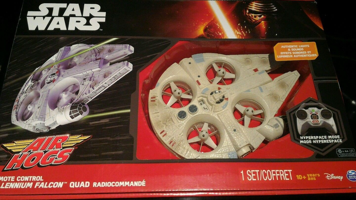 air hogs millennium falcon manual