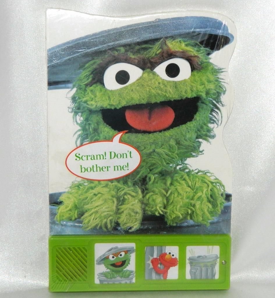 oscar the grouch sound board book new in and 50 similar items