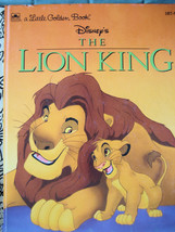 Little Golden Book Disneys The Lion King 1999 - $5.36