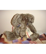Boyds Bears Newton Elephant Plush Flatties - $17.99