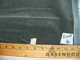 Dark Green Chenille Upholstery Fabric  1 Yard  R203 - $29.95