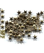 STARS Smooth Rhinestuds 8mm GOLD Color Hot Fix 144 PC  1 gross - $5.39