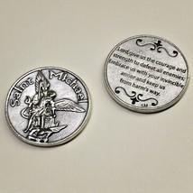 Saint St Michael the Archangel Pocket Token Protector Devotion Prayer Co... - $6.95