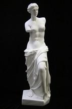 22 Inch Nude Naked Venus De Milo Goddess Italian Statue Vittoria Made in Italy - $169.99