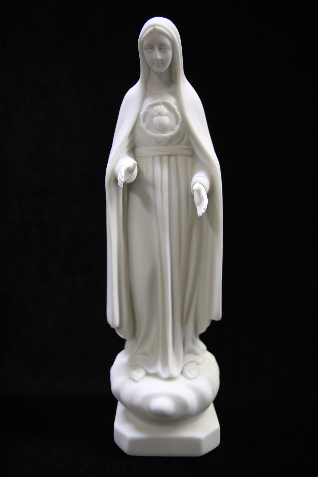 Our Lady of Fatima Pilgrim Virgin Mary Catholic Religious Statue Made in Italy - $59.95