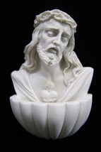 Jesus Christ Holy Water Font Wall Hanging Statue Sculpture Catholic Reli... - $39.99