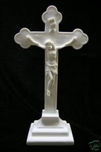 Crucifixion of Jesus Christ on the Cross Catholic Italian Statue Made in Italy - $49.95
