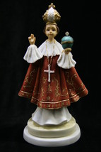 Infant Jesus of Prague Italian Statue Figurine Vittoria Collection Made in Italy - $39.95