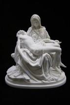 "6.5"" Pieta Jesus Mary Michelangelo Catholic Statue Sculpture Made in Italy - $59.99"