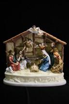 "16"" Christmas Nativity Scene Jesus Joseph Mary Catholic Statue Made in Italy - $188.05"