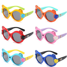 UV400 Goggles Glasses Kids Cartoon Child Outdoor Candy Color Silica HD P... - $12.21