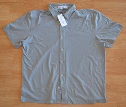 N956 New Men shirt Calvin Klein Size XXL Gray - $17.95