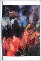 "BIG EYE Margaret (walter) KEANE POSTCARD 1964 ""SURVIVAL"" Unused Hell Apo... - $11.88"