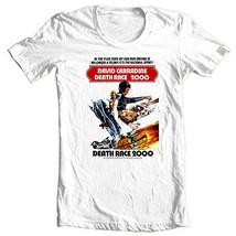 Death Race 2000 T shirt retro 70's movie cotton graphic tee S-3XL 4XL 5XL image 2
