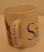 Starbucks Santa Barbara 1994 Collector Series Church Spire Coffee Mug 16 oz VTG - $74.95