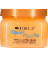 Tree Hut PAPAYA PARADISE Shea Sugar Scrub 18oz NEW Free Priority Shipping - $26.57