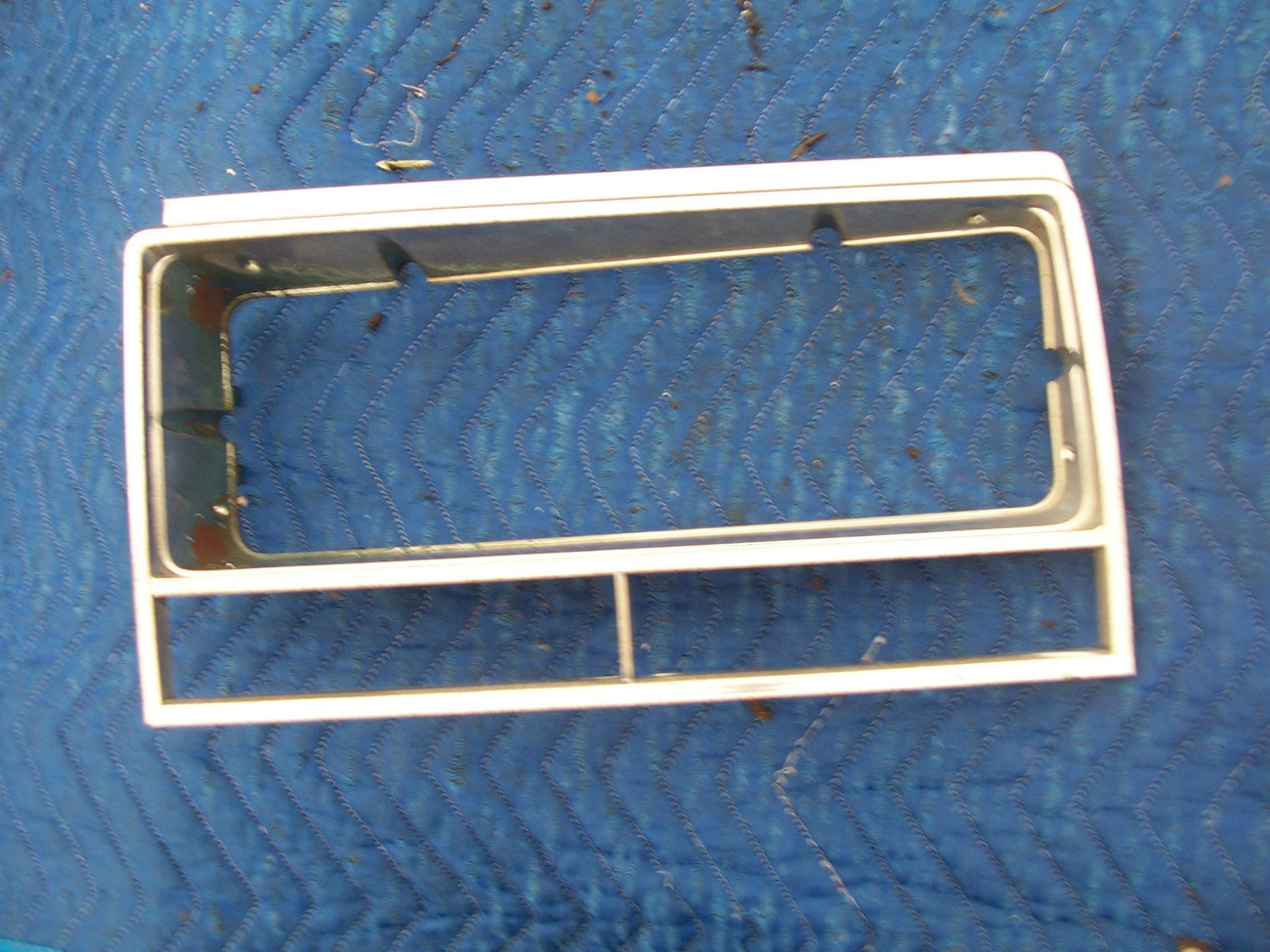 Primary image for 1985 EL CAMINO LEFT HEADLIGHT TRIM GRILL BEZEL HAS WEAR OEM USED ORIG CHEVROLET