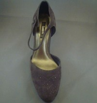 Liz Claiborne & Co.Dark Grey Suede Heels Sz 10 - $30.00