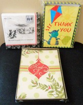 Christmas Cards, Thank You Cards and New Yorker Wine Party Napkins - $13.99