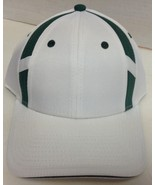 OC Q3  Sports Team Hat Green & White Quick dry cool wick NWT - $7.99