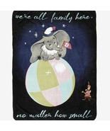 """Disney Dumbo family super plush throw blanket 48"""" x 60"""" - $41.58"""