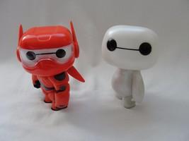 "Baymax Pop Disney Big Hero 6 Red + White Nurse Baymax 6"" Figures Loose S... - $34.58"