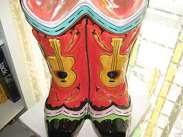 Wiild West Clay Art Western Boots guitars Cooki... - $70.08