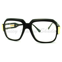 Oversized Square Eyeglasses Super Thick Bulky Clear Lens Fashion Wear - $7.95