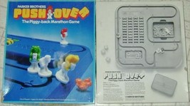 PUSHOVER – Piggy Back Marathon Board Game by Parker Brothers 1981 Family... - $39.59