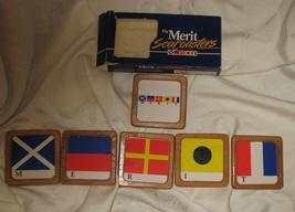 Vintage Merit Sea coasters New Old Stock 1986 - $15.00