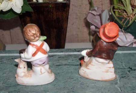 Set of  Vintage Musician Figurines Japan