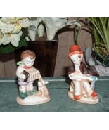 Set of  Vintage Musician Figurines Japan - $14.99