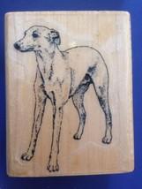 Italian Greyhound Scrapbooking RUBBER Dog STAMP... - $9.49