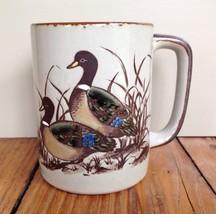 Otagiri Mallard Duck Mug Handpainted Etched Cof... - $27.76