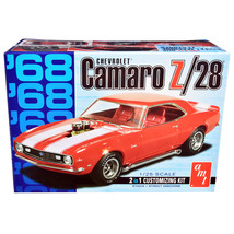 Skill 2 Model Kit 1968 Chevrolet Camaro Z/28 2-in-1 Kit 1/25 Scale Model... - $51.60