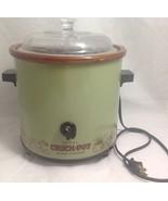 Vintage 1970s RIVAL 3100/2 Avocado Green 3 1/2 Qt. Slow Cooker Crock Pot... - $65.00